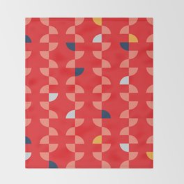 Geometric Pattern #2 Throw Blanket