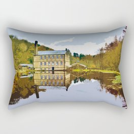 Gibson Mill - Hardcastle Crags Rectangular Pillow