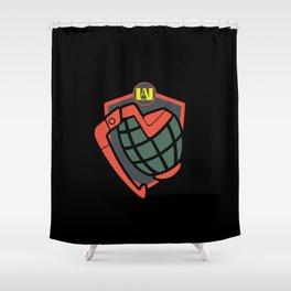 Bakugo Avatar Shower Curtain
