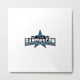 Team Bandwagon Metal Print