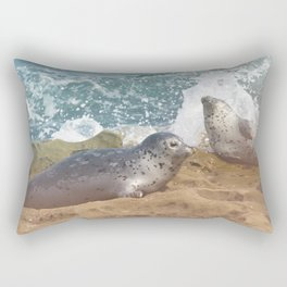 Seal of No Approval Rectangular Pillow