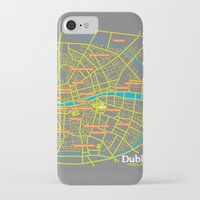 dublin iPhone & iPod Cases featuring Dublin by mattholleydesign