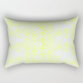 Damask Yellow Rectangular Pillow