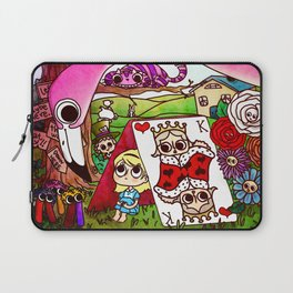 Lost in Wonderland Laptop Sleeve