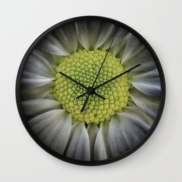 Macro_Flower Wall Clock