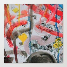 Urban vandals Canvas Print