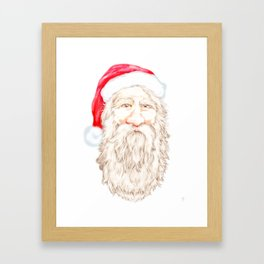 Santa Claus Framed Art Print