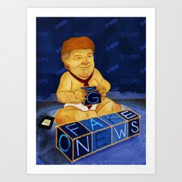 Boss Baby Art Print