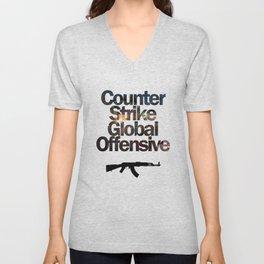 Counter Strike - Global Offensive  Unisex V-Neck