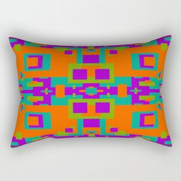 Herb, Berry, Pumpkin Decorative Design 1 Rectangular Pillow