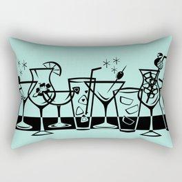 Retro Cocktails I Rectangular Pillow