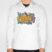 friday Hoodies featuring Friday by Roberlan Borges