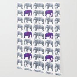 Elephants II Wallpaper