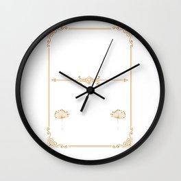 I Don't Give a Damn Wall Clock