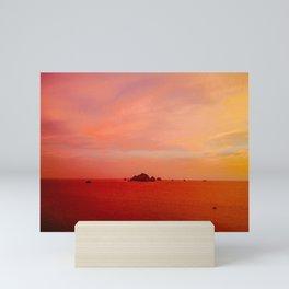 Drone Krabi Sunset, Thailand Mini Art Print