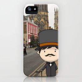 Gentleman iPhone Case
