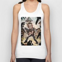resident evil Tank Tops featuring Resident Evil 4 by Max Grecke