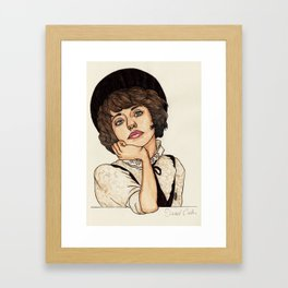 Kimbra Framed Art Print