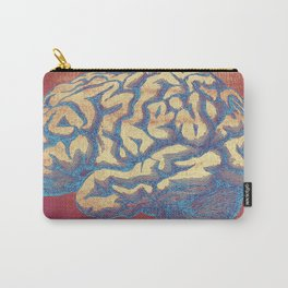 Blue Thoughts Carry-All Pouch