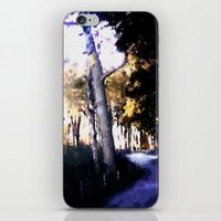 hiking iPhone & iPod Skins featuring Hiking on the Coast. by capricorn
