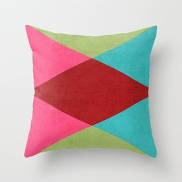 holiday triangles Throw Pillow