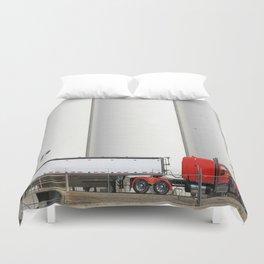 Truckin Duvet Cover