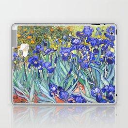 Vincent Van Gogh Irises Laptop & iPad Skin