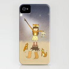 Little Fox Girl iPhone (4, 4s) Slim Case