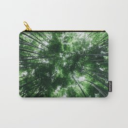 Bamboo Forest, Kyoto, Japan Carry-All Pouch