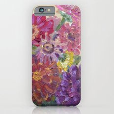 Zinnias iPhone 6s Slim Case