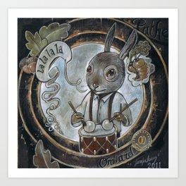 Year of the Rabbit Art Print