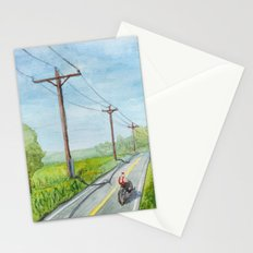 Afternoon Bike Ride Stationery Cards