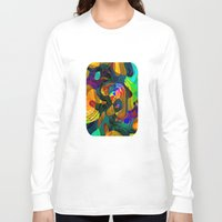 kandinsky Long Sleeve T-shirts featuring Child's Play by Klara Acel