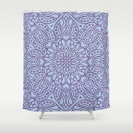 Mandala 35 Shower Curtain