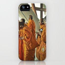 Hi-tech Monks iPhone Case
