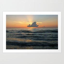 Summer Sunrise Art Print