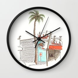 Hodad's Wall Clock