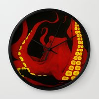 general Wall Clocks featuring General by Jules Marie