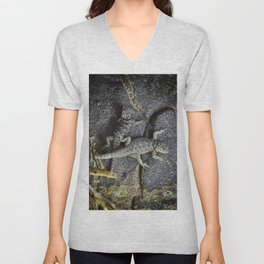Desert lizards.... Unisex V-Neck