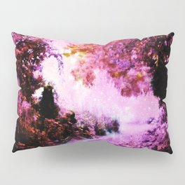 Romantic Fantasy Garden Pillow Sham