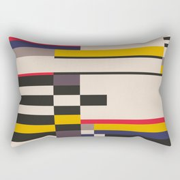 Geometric design - Bauhaus inspired Rectangular Pillow