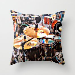 Music Sale Throw Pillow