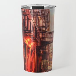 New York City Alley Travel Mug