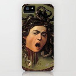 """Michelangelo Merisi da Caravaggio """"Medusa"""" iPhone Case"""