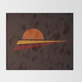 spicchi di sole Throw Blanket