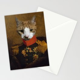 Sergeant Whiskers Stationery Cards
