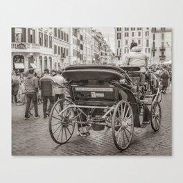 Piazza di Spagna - Rome, Italy Canvas Print