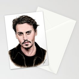 J Depp Stationery Cards