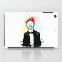 zissou iPad Cases featuring Steve Zissou  by suPmön
