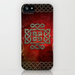 The celtic knot iPhone Case